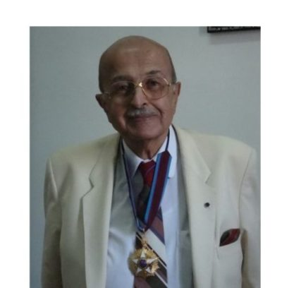 Prof. Yehia El-Gamal receives Egypt's 1st Degree, Golden Medal, for Science and Art
