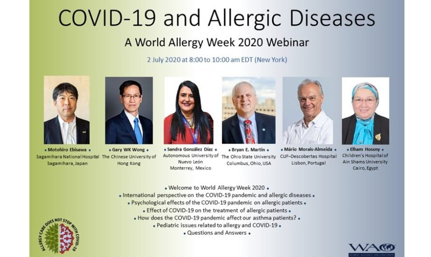 A World Allergy Week 2020 Webinar: COVID-19 and Allergic Diseases